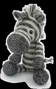Amigurumi Haakpakket Dirk de Zebra