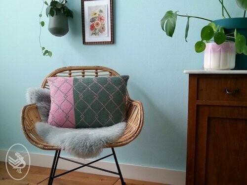 Haakpatroon Botanical Pillow