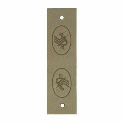 Durable Leren Label 60x19mm