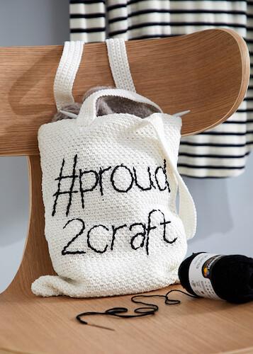 Haakpatroon Gehaakte Tas Proud2craft Bag