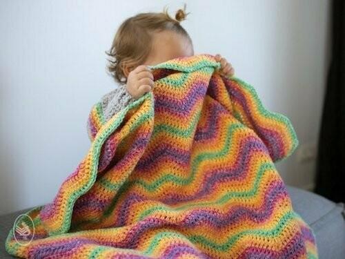 Haakpakket Ripple Blanket