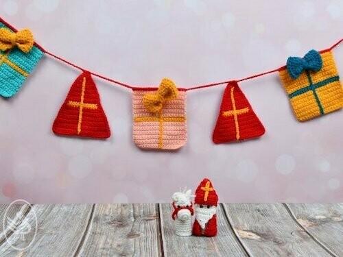 Haakpatroon Sinterklaasslinger