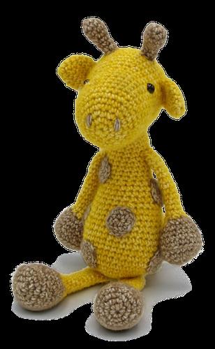 Amigurumi Haakpakket George de Giraffe