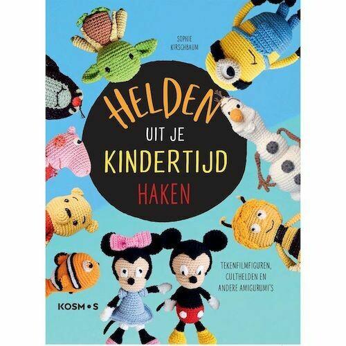 Boek Helden Uit je Kindertijd Haken