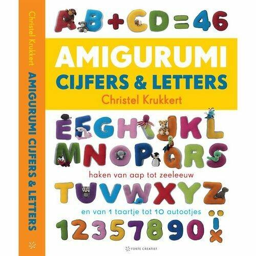 Boek Amigurumi cijfers en letters
