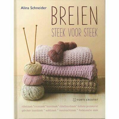 Boek Breien steek voor steek