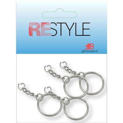 Restyle Sleutelring met ketting