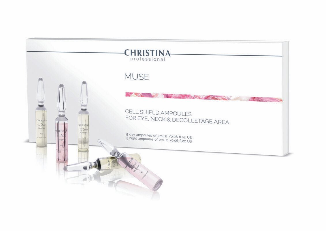 Muse Cell Shield Ampoules Kit