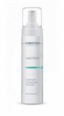 Unstress Comfort Cleansing Mousse 200ml