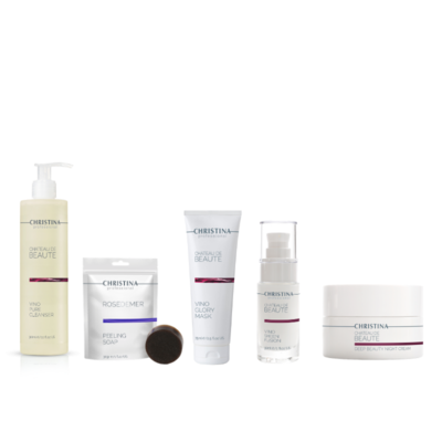 CHÂTEAU DE BEAUTÉ KIT (anti-aging normale huid)