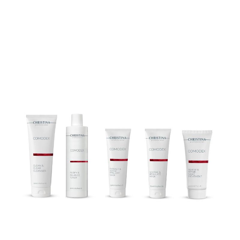 COMODEX KIT (anti verstoppingen en acne)