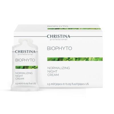BioPhyto Normalizing Night Cream Sachets 30 x 1.5ml