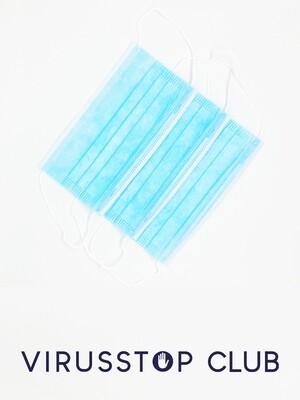 Mondmaskers 3-laags - 1000 stuks - 0,65€/STUK
