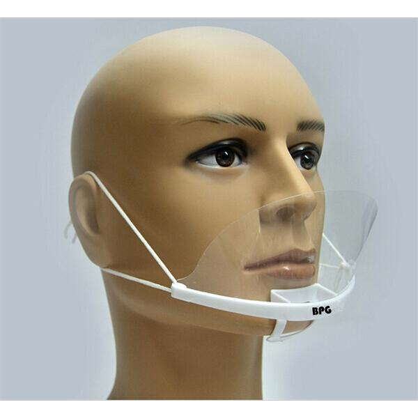 10 x Transparent mouth shield