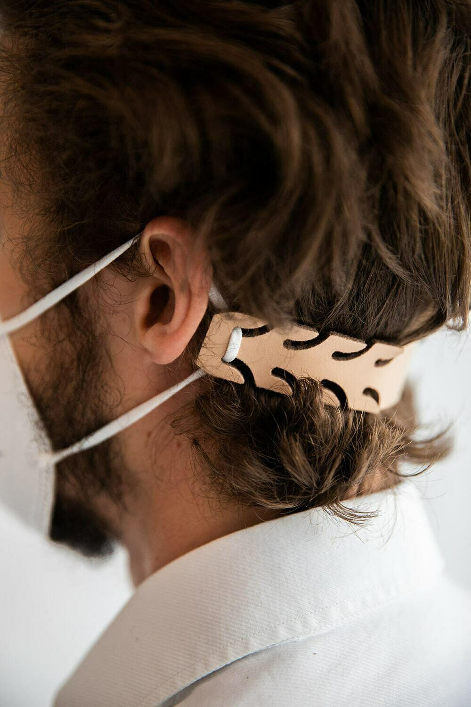 Earsavers LEER voor mondmaskers - 3 stuks