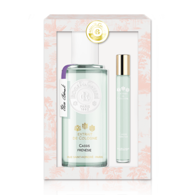ROGER&GALLET EXTR. COLOGNE CASSIS 100ML+MINI 10ML