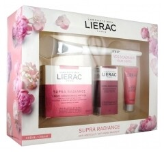 LIERAC KOFFER SUPRA RADIANCE GEL CR 3 PROD.+ BRUSH