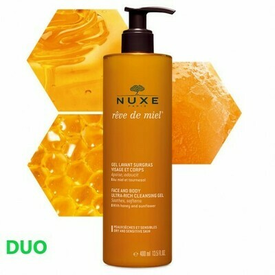 NUXE REVE DE MIEL DUO DOUCHEGEL 2X400ML