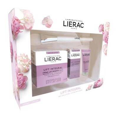 LIERAC KOFFER LIFT INTEGRAL CREME 3 PROD. + BRUSH