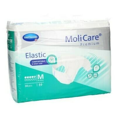 MOLICARE PREMIUM ELASTIC 5 DROPS M 30 165172