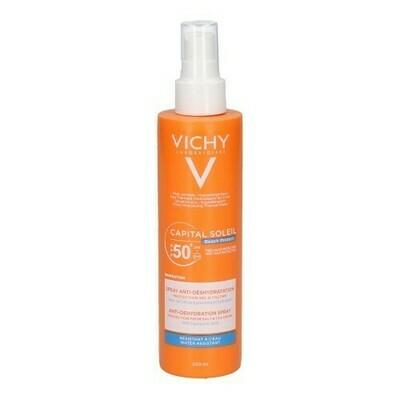 VICHY CAP.SOL.BEACH PROT.SPRAY A/DEHYDR.IP50 200ML