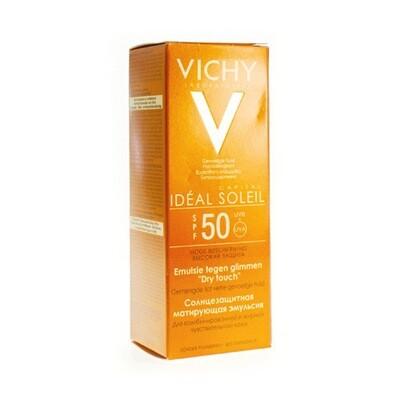 VICHY CAP SOL IP50+ GEZICHTSCR DRY TOUCH 50ML