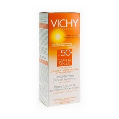 VICHY CAP SOL IP50+ GEZICHTSCR GEV H DH 50ML