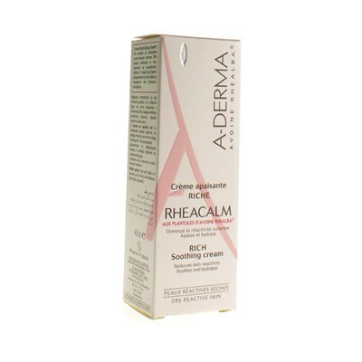 ADERMA RHEACALM CR VERZACHTEND RIJK TUBE 40ML