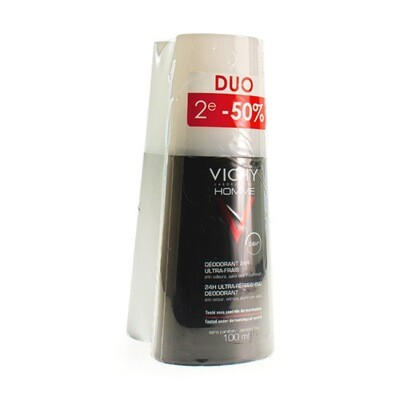 VICHY HOMME DEO ULT.-FRESH VAPO DUO 2X100ML