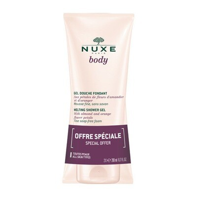NUXE BODY DOUCHEGEL DUO 2X200ML PROMO