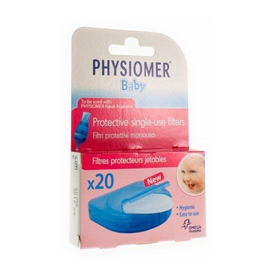 PHYSIOMER FILTERS NIEUW 20