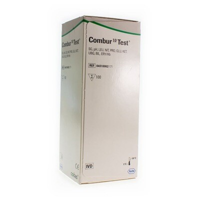 COMBUR 10 TEST STRIPS 100 04510062171