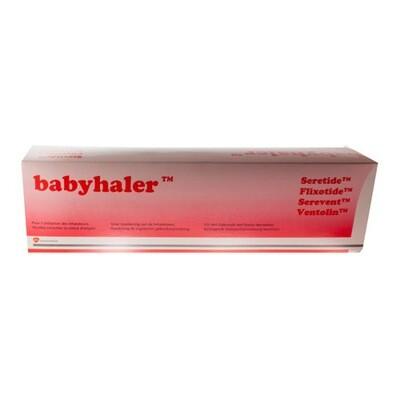 BABYHALER INHALATIEKAMER+MASKER BB 2 KLEPPEN