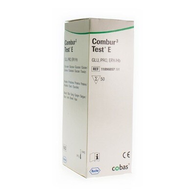 COMBUR 3 TEST E STRIPS 50 11896857191