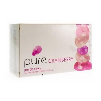 PURE CRANBERRY TABL 60