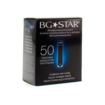 BG STAR TESTSTRIPS 50