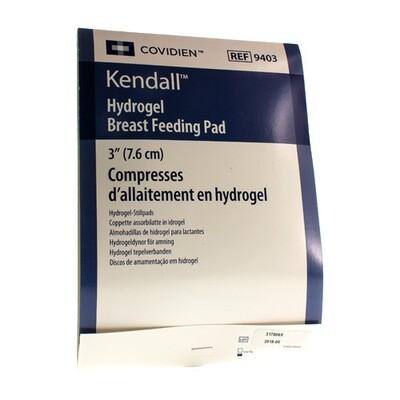 KENDALL TEPELVERBAND HYDROGEL DIAM 7,6CM 1 PAAR