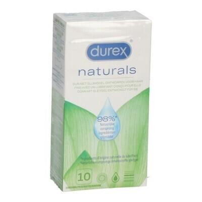 DUREX NATURAL CONDOOMS 10