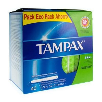 TAMPAX SUPER 40
