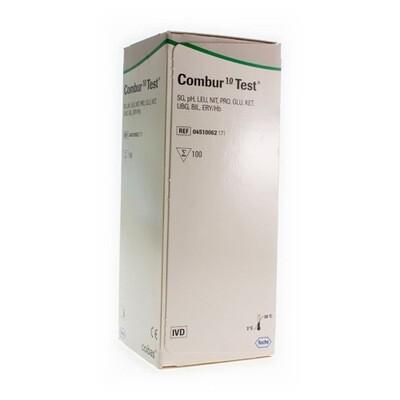 COMBUR 10 TEST STRIPS 100 04510062171