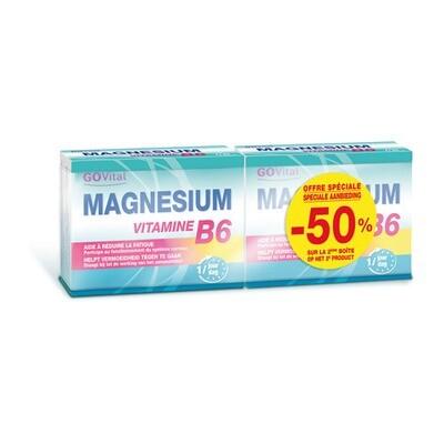 GOVITAL MAGNESIUM VITAMINE B6 COMP45 PROMO 2E -50%