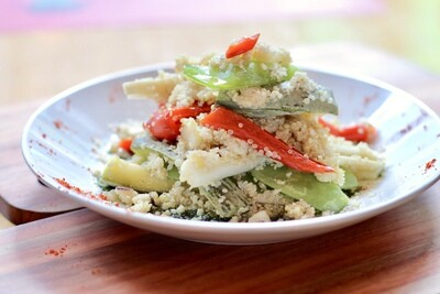 Quinoa & coeurs de palmier (Vegano)
