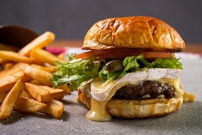Combo Burger + Fritas + Refrigerante