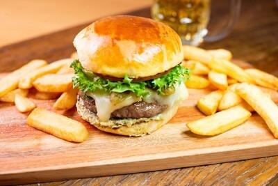 Menu JANTAR: Belga Burger