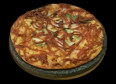 Seafood Pancake (해물파전)