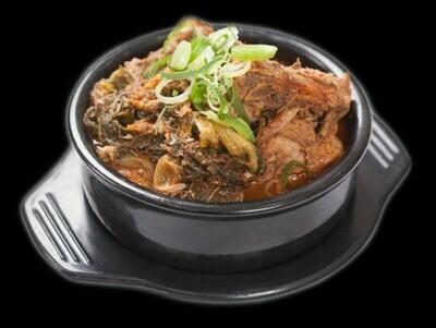 Pork Rib Soup (뼈 해장국)