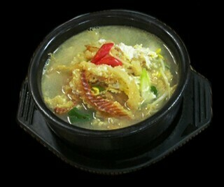 Dried Pollack Soup (황태해장국)