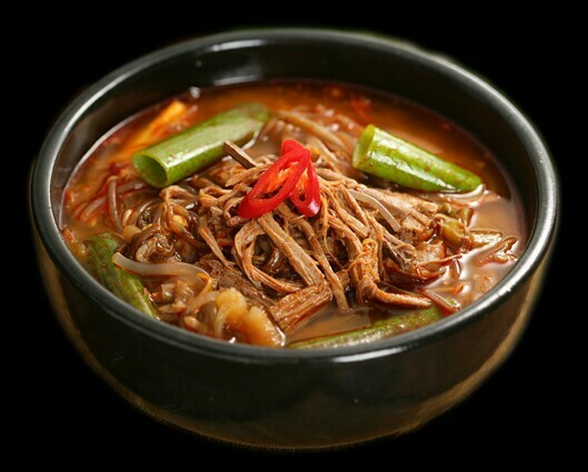 Spicy Beef Soup (육개장)