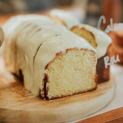 Calamansi Lime Tin Cake (Slice)