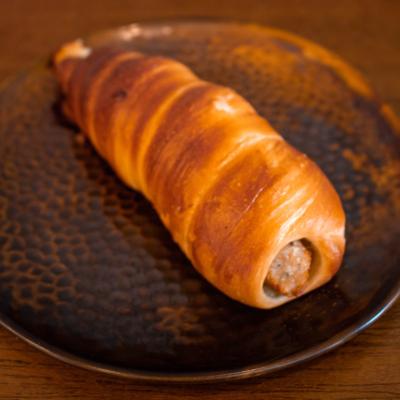 Herb & Mustard Sausage Roll
